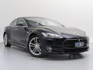 2015 Tesla Model S 85 Blue 1 Speed Automatic Hatchback.