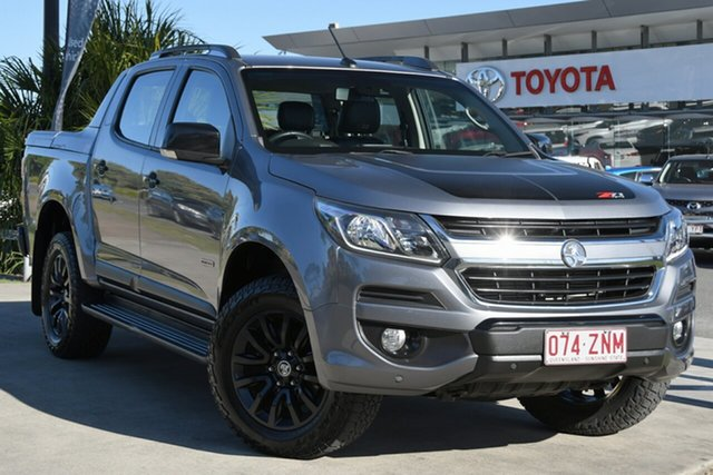 Pre-Owned Holden Colorado RG MY17 Z71 Pickup Crew Cab North Lakes, 2017 Holden Colorado RG MY17 Z71 Pickup Crew Cab Grey 6 Speed Sports Automatic Utility