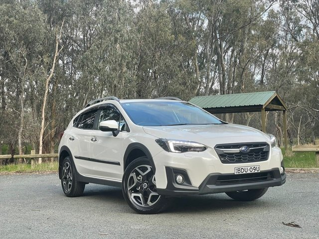 Used Subaru XV G5X MY18 2.0i-S Lineartronic AWD Echuca, 2018 Subaru XV G5X MY18 2.0i-S Lineartronic AWD White 7 Speed Constant Variable Wagon