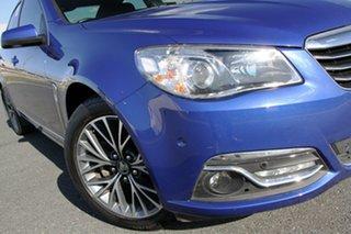 2017 Holden Calais VF II Blue 6 Speed Automatic Sedan.