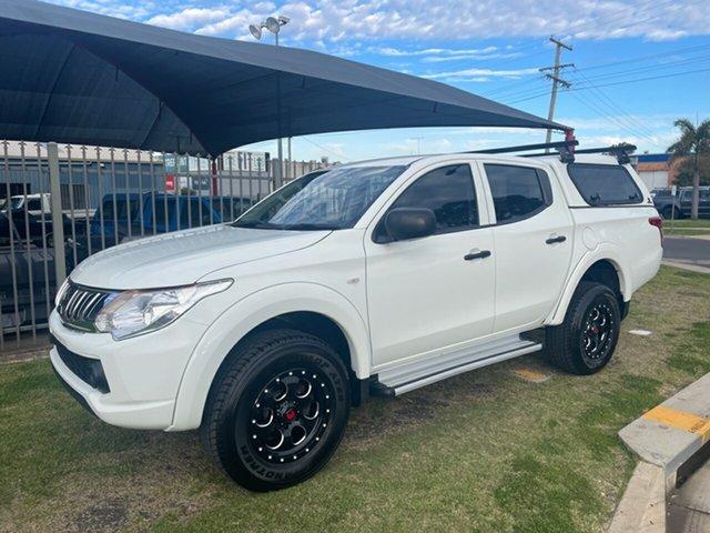 Used Mitsubishi Triton MQ MY16 GLX (4x4) Toowoomba, 2015 Mitsubishi Triton MQ MY16 GLX (4x4) White 5 Speed Automatic Dual Cab Utility