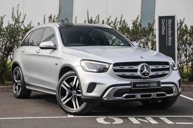 Certified Pre-Owned Mercedes-Benz GLC-Class X253 800+050MY GLC300 9G-Tronic 4MATIC e Mulgrave, 2020 Mercedes-Benz GLC-Class X253 800+050MY GLC300 9G-Tronic 4MATIC e Iridium Silver 9 Speed