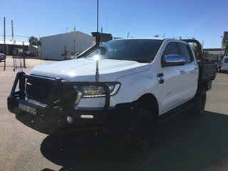 2018 Ford Ranger PX MkIII XLT White Sports Automatic.