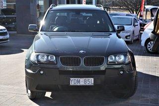 2004 BMW X3 E83 MY05 Steptronic Green 5 Speed Sports Automatic Wagon.