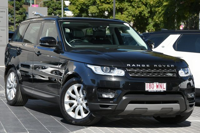 Used Land Rover Range Rover Sport L494 16.5MY SE Newstead, 2016 Land Rover Range Rover Sport L494 16.5MY SE Santorini Black 8 Speed Sports Automatic Wagon