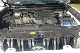 2010 Toyota Landcruiser Prado GRJ150R GXL White 5 Speed Sports Automatic Wagon
