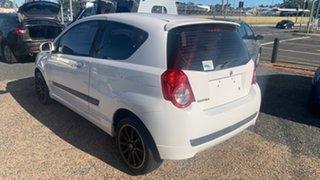2009 Holden Barina White 5 Speed Manual Hatchback