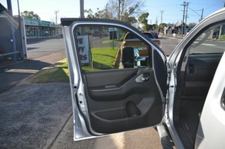 2012 Nissan Navara D40 MY12 ST (4x4) Silver 5 Speed Automatic Dual Cab Pick-up