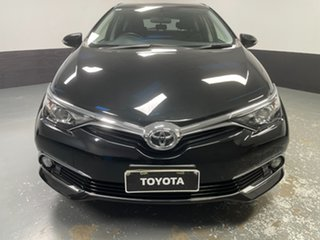 2017 Toyota Corolla ZRE182R Ascent Sport S-CVT Black 7 Speed Constant Variable Hatchback.
