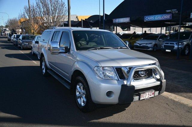 Used Nissan Navara D40 MY12 ST (4x4) Toowoomba, 2012 Nissan Navara D40 MY12 ST (4x4) Silver 5 Speed Automatic Dual Cab Pick-up