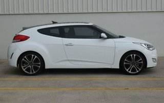 2017 Hyundai Veloster FS5 Series II Coupe White 6 Speed Manual Hatchback