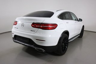 2018 Mercedes-Benz GLC250 253 MY18 Polar White 9 Speed Automatic G-Tronic Coupe