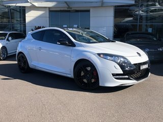 2013 Renault Megane III D95 R.S. 265 Cup White 6 Speed Manual Coupe.