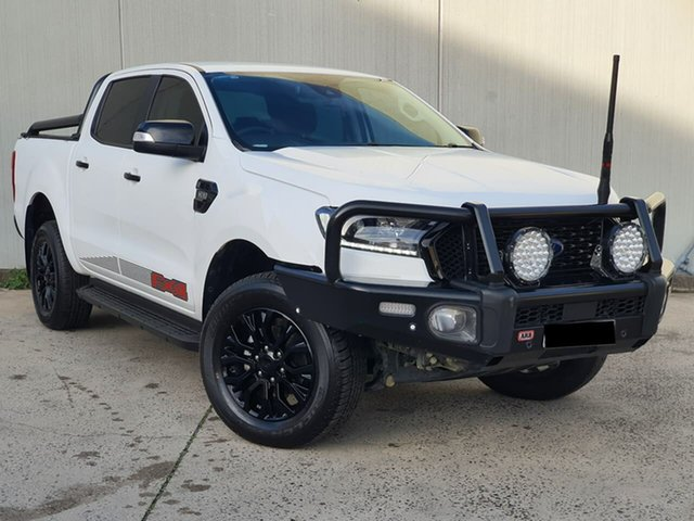Used Ford Ranger PX MkIII 2020.25MY FX4 Oakleigh, 2020 Ford Ranger PX MkIII 2020.25MY FX4 White 6 Speed Manual Double Cab Pick Up