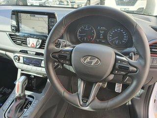 2020 Hyundai i30 PD.3 MY20 N Line D-CT Premium White 7 Speed Sports Automatic Dual Clutch Hatchback