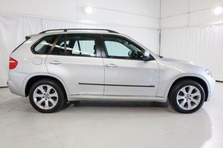 2009 BMW X5 E70 MY09 xDrive30d Steptronic Executive Silver 6 Speed Sports Automatic Wagon.