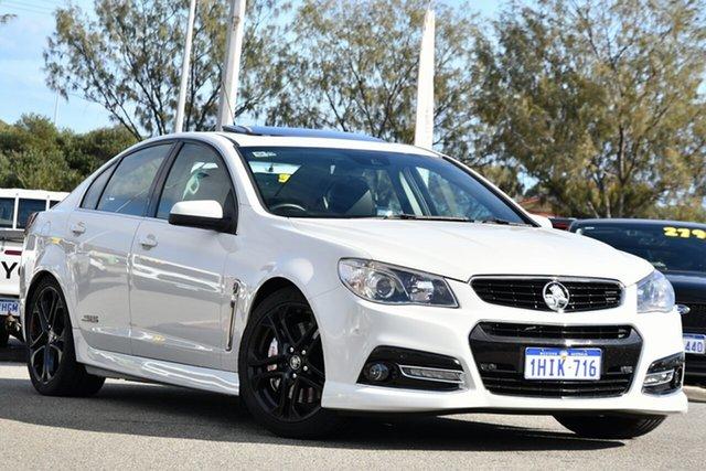 Used Holden Commodore VF MY15 SS V Redline Clarkson, 2015 Holden Commodore VF MY15 SS V Redline White 6 Speed Sports Automatic Sedan