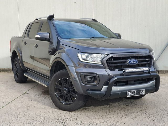 Used Ford Ranger PX MkIII 2019.75MY Wildtrak Oakleigh, 2019 Ford Ranger PX MkIII 2019.75MY Wildtrak Grey 10 Speed Sports Automatic Double Cab Pick Up