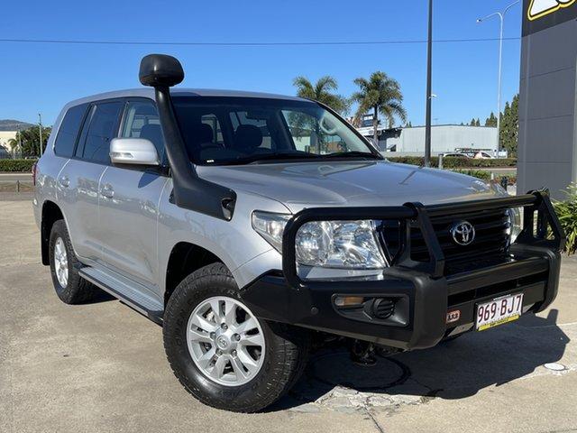 Used Toyota Landcruiser VDJ200R MY12 GXL Townsville, 2013 Toyota Landcruiser VDJ200R MY12 GXL Silver/300714 6 Speed Sports Automatic Wagon
