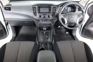 2018 Mitsubishi Triton MR MY19 GLX ADAS (4x4) White 6 Speed Automatic Double Cab Pick Up