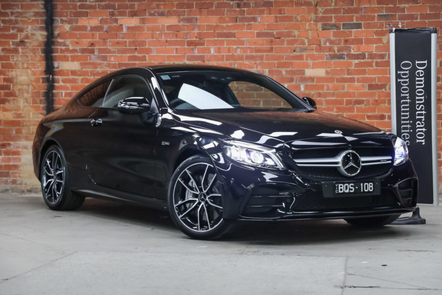 Demonstrator Mercedes-Benz C-Class C205 801MY C43 AMG 9G-Tronic 4MATIC Mulgrave, 2021 Mercedes-Benz C-Class C205 801MY C43 AMG 9G-Tronic 4MATIC Obsidian Black 9 Speed