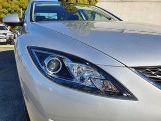2008 Mazda 6 GH1051 Classic Silver 6 Speed Manual Sedan.