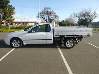2004 Ford Falcon BA Mk II XLS White Sports Automatic Cab Chassis