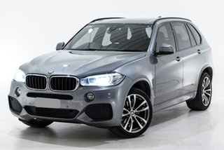 2017 BMW X5 F15 sDrive25d Grey 8 Speed Automatic Wagon.
