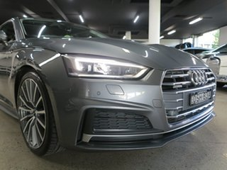 2017 Audi A5 F5 MY17 Sport S Tronic Quattro Grey 7 Speed Sports Automatic Dual Clutch Coupe.