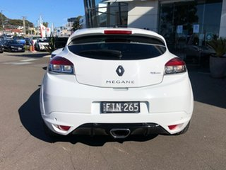 2013 Renault Megane III D95 R.S. 265 Cup White 6 Speed Manual Coupe