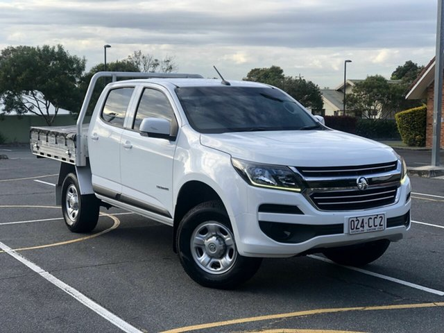 Used Holden Colorado RG MY17 LS Crew Cab 4x2 Chermside, 2017 Holden Colorado RG MY17 LS Crew Cab 4x2 White 6 Speed Sports Automatic Cab Chassis
