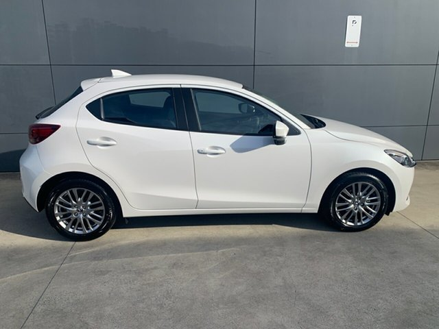 New Mazda 2 DJ2HAA G15 SKYACTIV-Drive Evolve Alexandria, 2021 Mazda 2 DJ2HAA G15 SKYACTIV-Drive Evolve Snowflake White 6 Speed Sports Automatic Hatchback