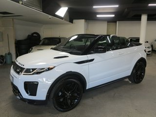 2017 Land Rover Range Rover Evoque L538 MY17 HSE Dynamic White 9 Speed Sports Automatic Convertible