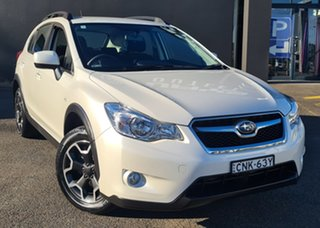 2013 Subaru XV G4X MY13 2.0i Lineartronic AWD White 6 Speed Constant Variable Wagon.