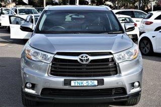 2014 Toyota Kluger GSU55R GXL AWD Grey 6 Speed Sports Automatic Wagon.