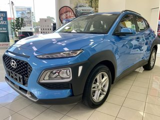 2017 Hyundai Kona OS MY18 Active 2WD Blue 6 Speed Sports Automatic Wagon.