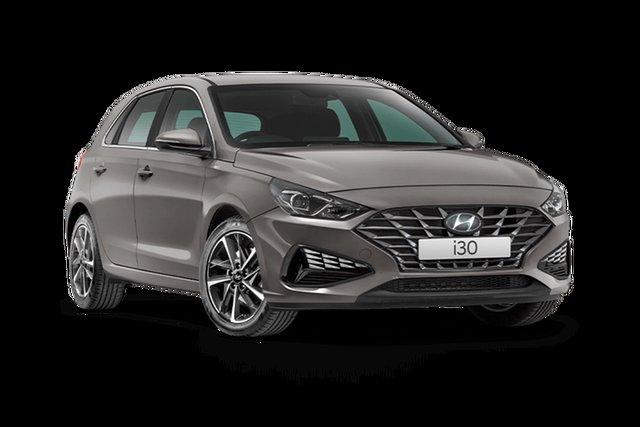 New Hyundai i30 PD.V4 MY21 Active Hamilton, 2021 Hyundai i30 PD.V4 MY21 Active Fluid Metal 6 Speed Sports Automatic Hatchback