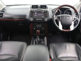 2015 Toyota Landcruiser Prado KDJ150R MY14 Kakadu (4x4) White 5 Speed Sequential Auto Wagon