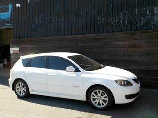 2007 Mazda 3 BK10F2 MZR-CD White 6 Speed Manual Hatchback.