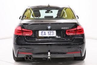 2016 BMW 3 Series F30 LCI 320i M Sport Black 8 Speed Sports Automatic Sedan