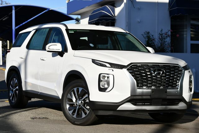 New Hyundai Palisade LX2.V1 MY21 2WD Victoria Park, 2021 Hyundai Palisade LX2.V1 MY21 2WD White Cream 8 Speed Sports Automatic Wagon