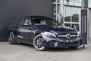 2021 Mercedes-Benz C-Class C205 801MY C43 AMG 9G-Tronic 4MATIC Cavansite Blue 9 Speed.