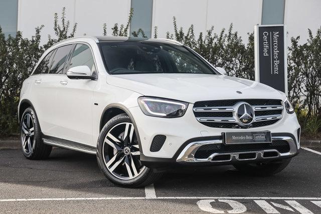 Certified Pre-Owned Mercedes-Benz GLC-Class X253 800+050MY GLC300 9G-Tronic 4MATIC e Mulgrave, 2020 Mercedes-Benz GLC-Class X253 800+050MY GLC300 9G-Tronic 4MATIC e Polar White 9 Speed