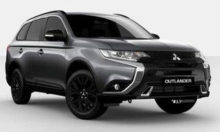 2021 Mitsubishi Outlander ZL MY21 Black Edition 2WD Grey 6 Speed Constant Variable Wagon