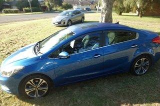 2013 Kia Cerato TD MY13 SLi Blue 6 Speed Sports Automatic Sedan.