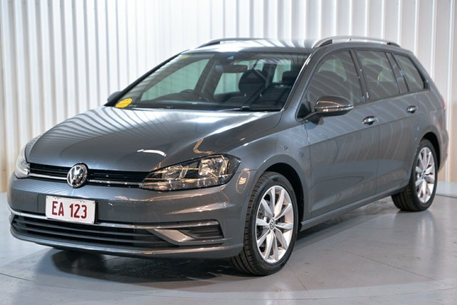Used Volkswagen Golf 7.5 MY18 110TSI DSG Comfortline Hendra, 2018 Volkswagen Golf 7.5 MY18 110TSI DSG Comfortline Grey 7 Speed Sports Automatic Dual Clutch Wagon