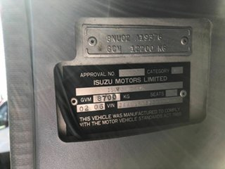 2006 Isuzu NQR450 White Cherry Picker