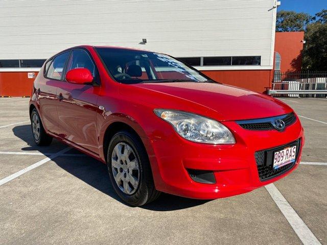 Used Hyundai i30 FD MY09 SX Morayfield, 2009 Hyundai i30 FD MY09 SX Red 4 Speed Automatic Hatchback