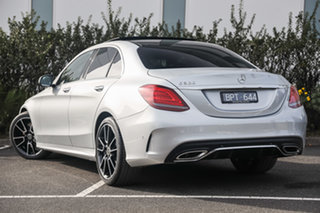 2020 Mercedes-Benz C-Class W205 801MY C300 9G-Tronic Iridium Silver 9 Speed Sports Automatic Sedan.