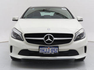 2016 Mercedes-Benz A200 176 MY16 White 7 Speed Automatic Hatchback.